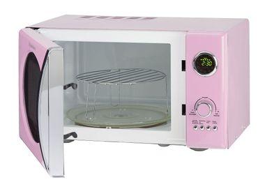 Schaub Lorenz MW823G SP pink retro Mikrowelle 800Watt - Grill 1000Watt – Bild 3