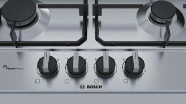 Bosch PCP6A5B80 Kochfeld Gas 60cm Einbau Gaskochfeld autark Edelstahl – Bild 3