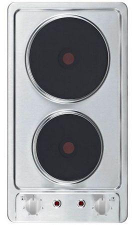 KF-GE-2F Kochfeld Autark Doppelkochplatte Doppelkochfeld Edelstahl – Bild 1