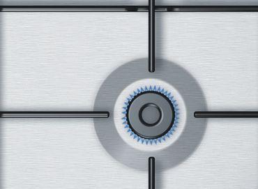 Bosch PGP6B5B80 Kochfeld Gas 60cm Einbau Gaskochfeld autark Edelstahl – Bild 9
