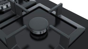 Bosch PPP6A6B20 Einbau Kochfeld Gas 60cm Autark Glas Kochfeld schwarz – Bild 6