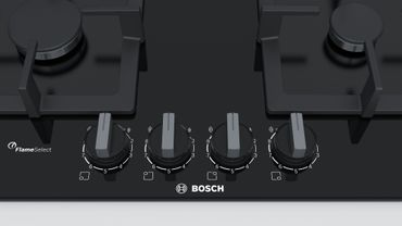 Bosch PPP6A6B20 Einbau Kochfeld Gas 60cm Autark Glas Kochfeld schwarz – Bild 3