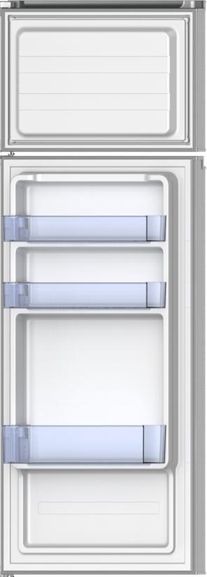 PKM GK 212.4A++N2 Kühl-Gefrierkombination 204L weiß Kühlschrank Gefrierfach oben