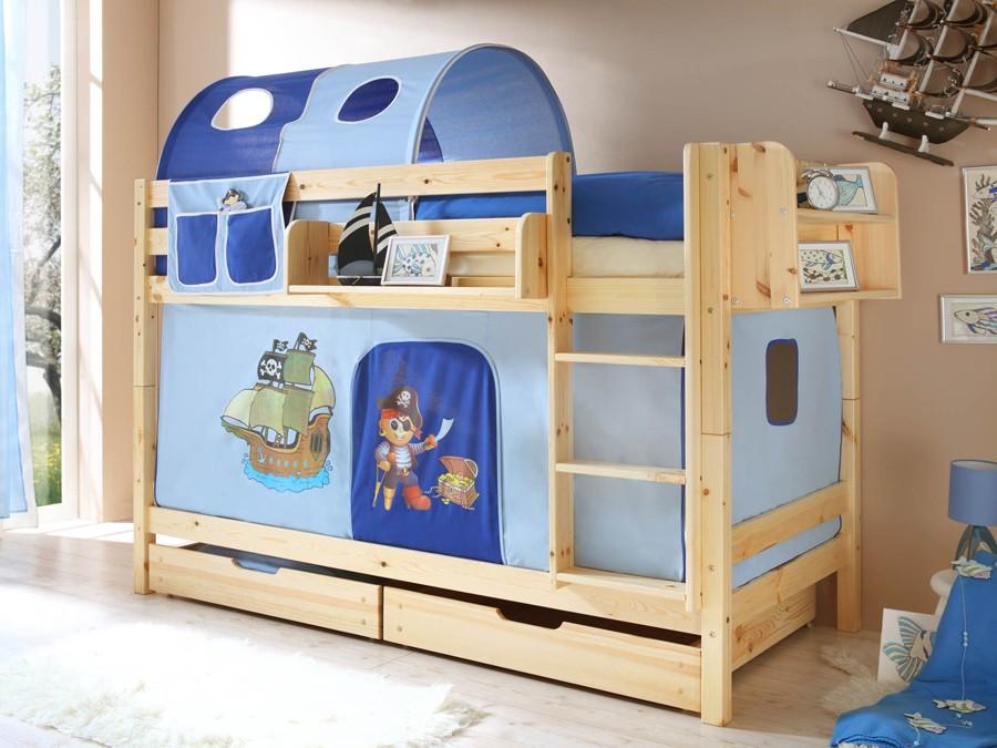 Etagenbett Nischenhöhe : Bettkasten für unsere etagenbetten teilig kiefer weiß