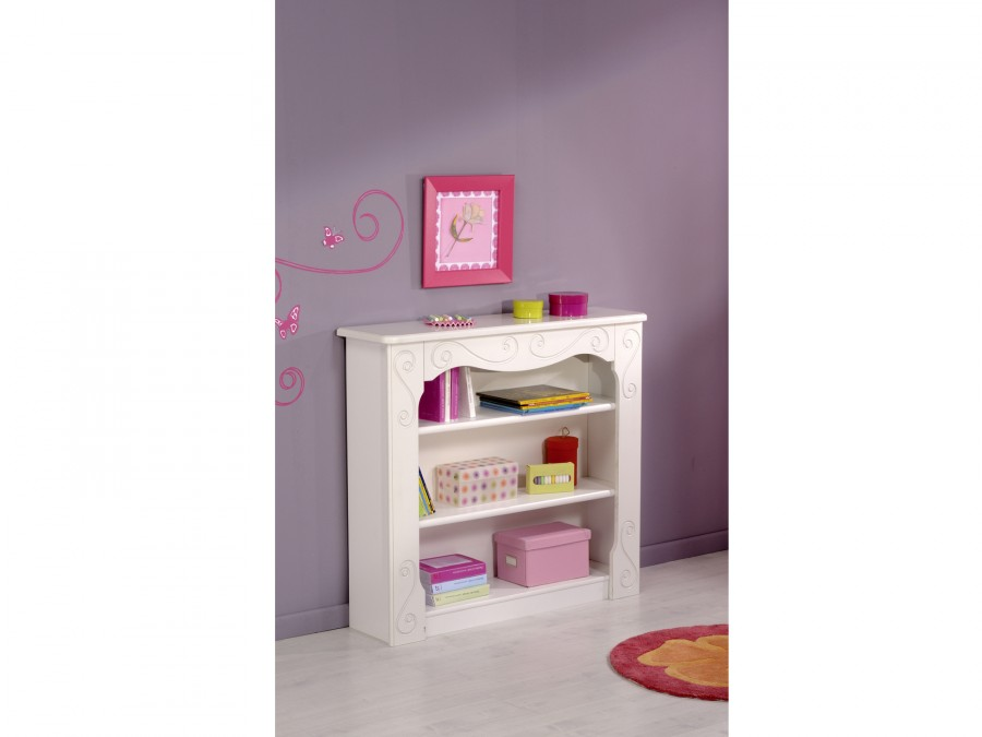 b cher und wandregal alice wei kinder jugendzimmer komplett sets alice. Black Bedroom Furniture Sets. Home Design Ideas