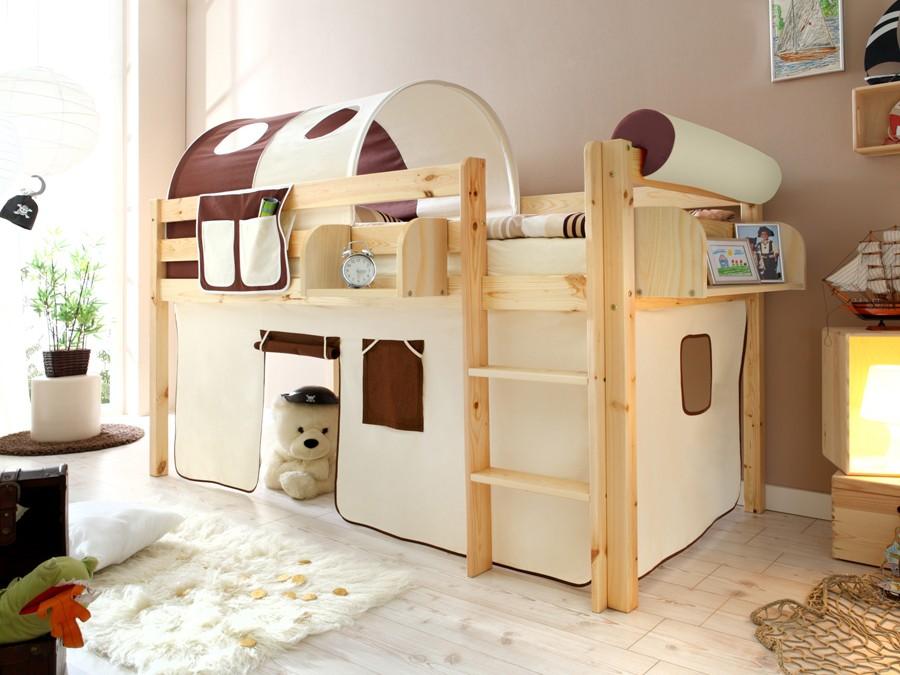 Etagenbett Kiefer Massiv : Kinder etagenbett kiefer massiv inkl rollroste