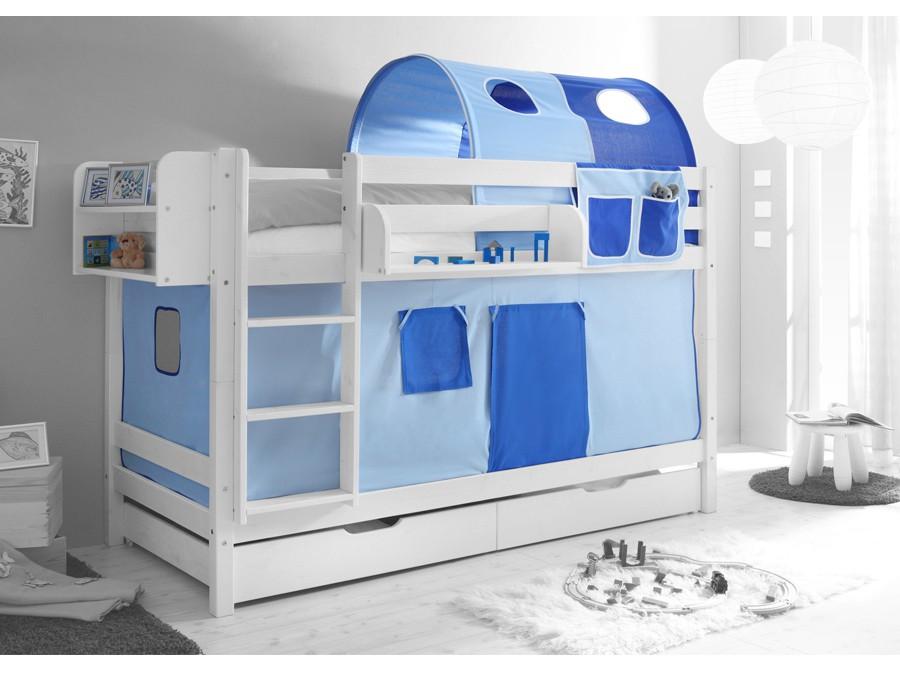 Vorhang Etagenbett Kinder : Etagenbett hochbett spielbett kinder bett cm vorhang eur