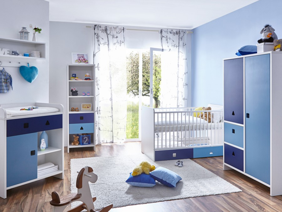 babyzimmer cubo 5 teilig 2 t rig verschied farben. Black Bedroom Furniture Sets. Home Design Ideas