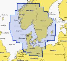 Navionics Plus 45XG Deutschland  Dänemark Skagerrak and Kattegat