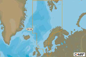 C-Map EN-Y300 Nordsee, Norwegen, Dänemark