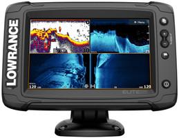Lowrance Elite 7 Ti² mit HDI Geber Echolot GPS Kombigerät – Bild 1
