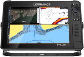 Lowrance HDS 12 LIVE ohne Geber Echolot GPS Kombigerät