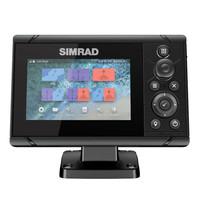 Simrad Cruise 5 GPS Kartenplotter mit 83/200 XDCR Echolot Geber