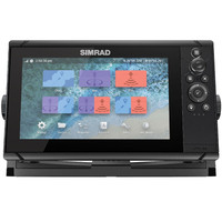 Simrad Cruise 9 GPS Kartenplotter mit 83/200 XDCR Echolot Geber – Bild 1