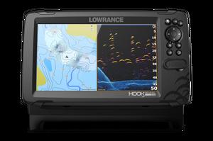 Lowrance HOOK REVEAL 9 HDI mit 50/200 kHz Echolot Geber – Bild 1