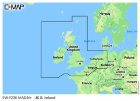 C-Map M-EW-Y226 UK Ireland and the Channel Wide Max N+