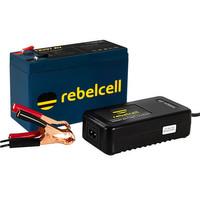 Rebelcell 12V07 AV Li-ion Akku mit 12.6V3A Li-Ion Ladegerät – Bild 1