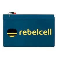Rebelcell 12V18 AV Li-ion Akku mit 12.6V4A Li-Ion Ladegerät – Bild 2