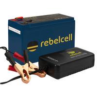Rebelcell 12V18 AV Li-ion Akku mit 12.6V4A Li-Ion Ladegerät – Bild 1