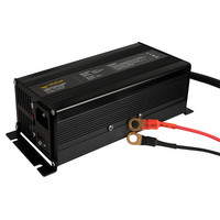 Rebelcell Ladegerät 29.4V12A Li-Ion für 24V50 und 24V100  Li-Ion Akkus – Bild 1