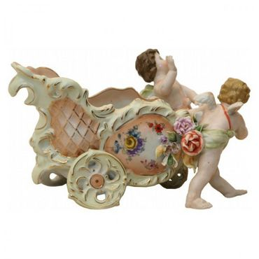 2 angel wagon porcelain bowl old school look nostalgic  – image 3