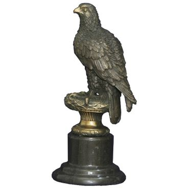 Statues sculpture eagle bronze eagle garden marble collectable ornament figurine – image 4