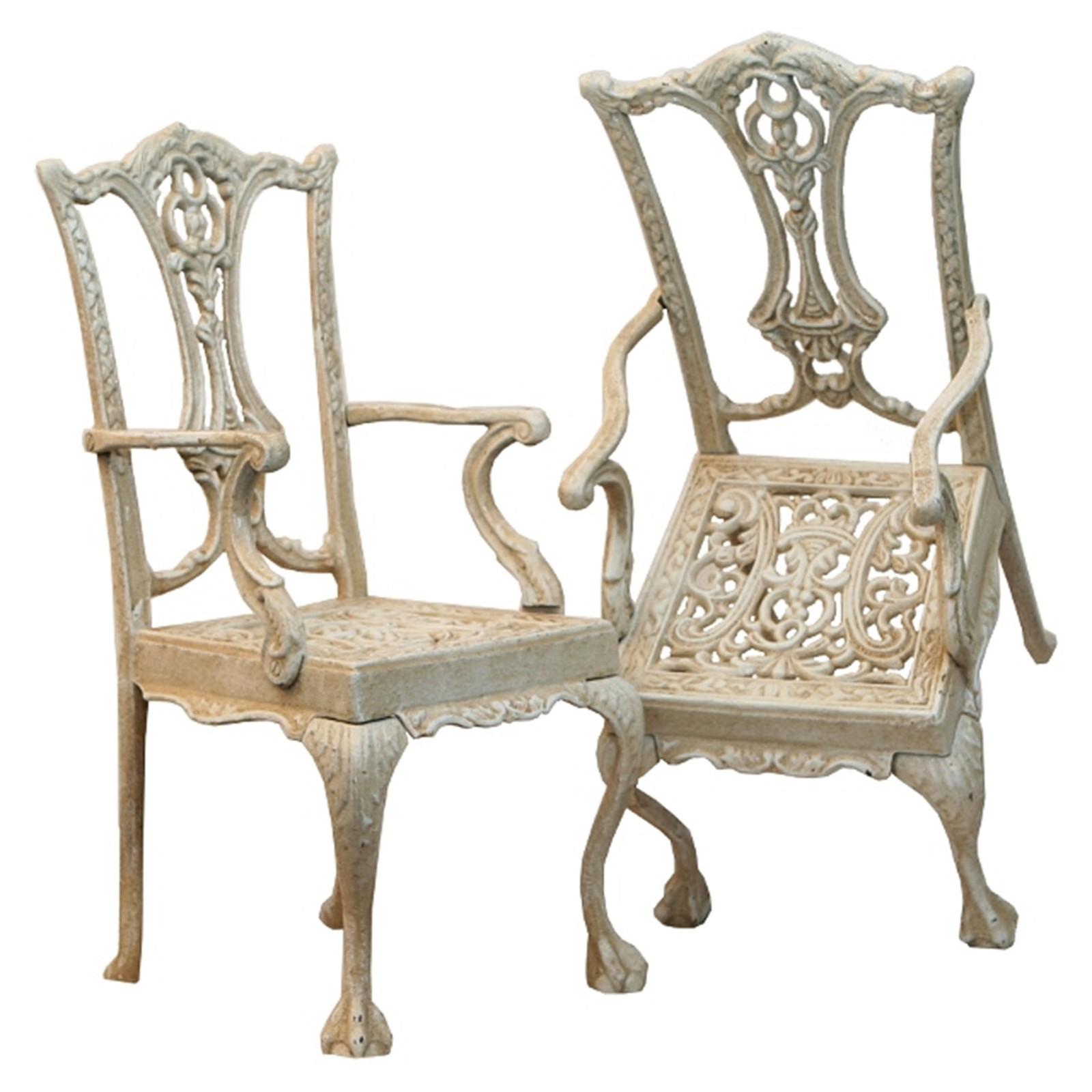 Fesselnde Wintergarten Deko Dekoration Von Garten Dekoration Metallstuhl Weiß Antik Stuhl Antikweiß