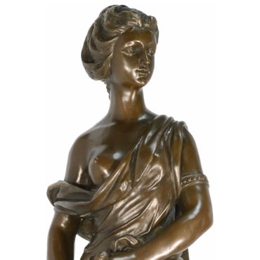 4 seasons bronze figures in set of 4 Goddesses representing Spring Summer Autumn Winter  – image 5
