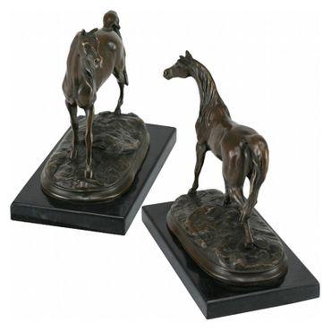 Arabian Horse Sculpture of Bronze representing Arabs – image 2