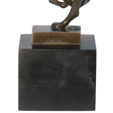 Animal bronze sculpture of Big Cat Cheetah – image 3