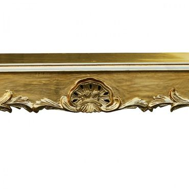 Baroque style furniture dining table in gold  – image 3