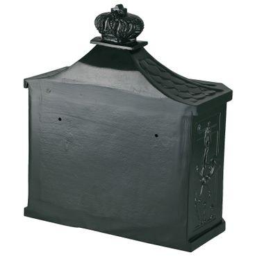 Antique mailbox royal style elegant green weatherproof letterbox aluminum – image 5