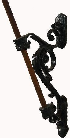 Flagpole flagpole Antique Standard decoration garden wall mount