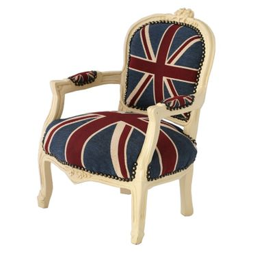 Office Chair Jack Union Beige denim child's chair perfect gift for any child – image 2