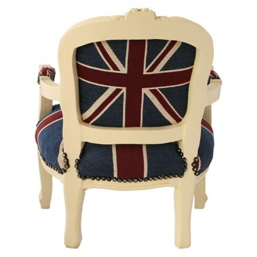 Office Chair Jack Union Beige denim child's chair perfect gift for any child – image 5