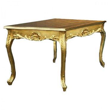 Impressive 3m Golden Baroque Dining Room Table – image 5