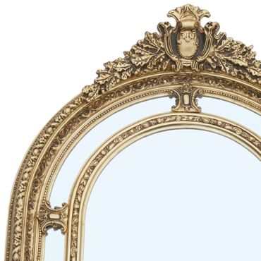 Beautiful Large Baroque Style Mirror Golden Frame  – image 3