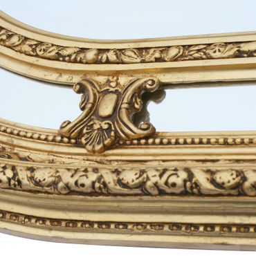 Beautiful Large Baroque Style Mirror Golden Frame  – image 4