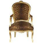 Bedroom Design Accent Chair, Leopard / African print  001