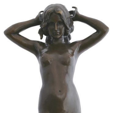 Beautiful Young Woman all Natural in Bronze  – image 5