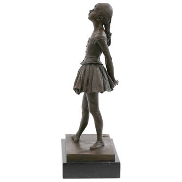 Adolescents ballet dancer Repro bronze statue fourteen year old dancer – image 2