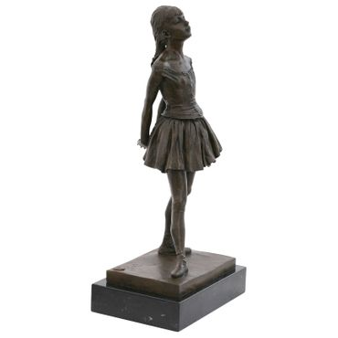 Adolescents ballet dancer Repro bronze statue fourteen year old dancer – image 4
