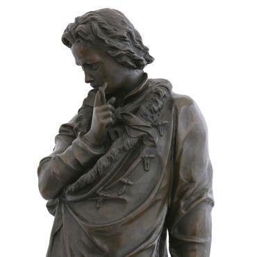 Beethoven bronze statue man music room decoration pianist Sculpture – image 5