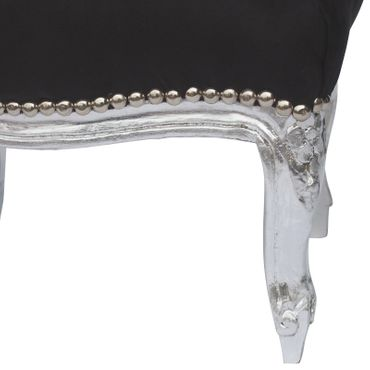 Antique silver Stool in baroque reference of Louis XIV – image 5
