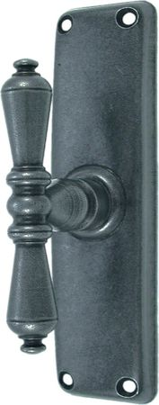 Antique window handle nostalgic look high quality iron grey