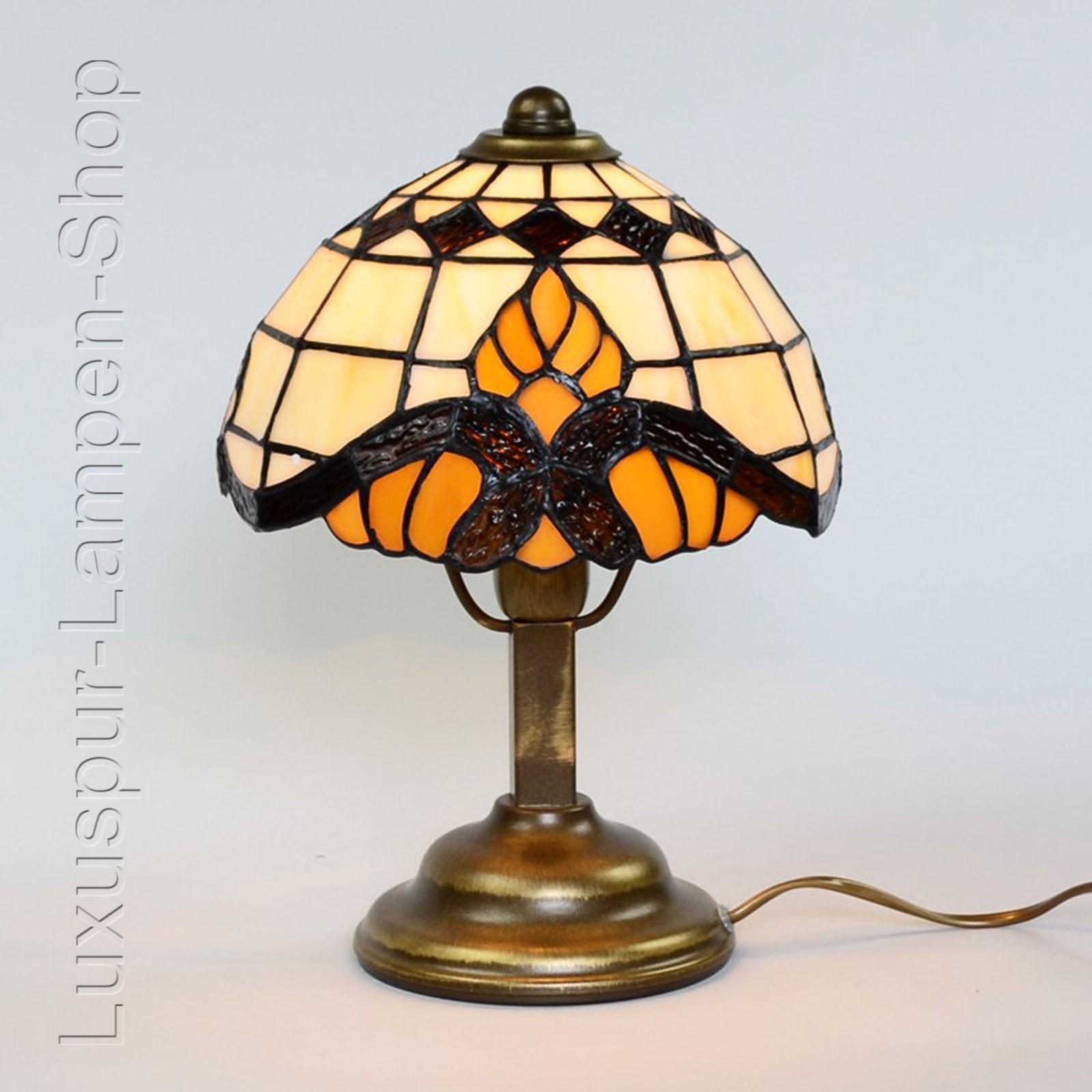 tischlampe im tiffany stil portland barock 1flammige leuchte g nstig kaufen. Black Bedroom Furniture Sets. Home Design Ideas