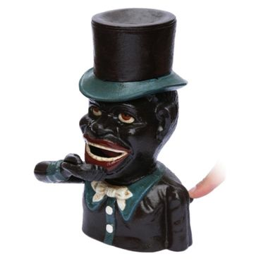 Africa Man Moneybox Hat Cylinder Jolly Bank Decoration – image 2