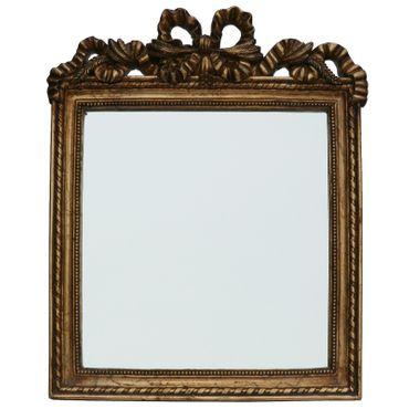 Table Miroir Gold Baroque Frame Bow Décoration Home Decor – image 1