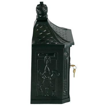 Antique mailbox royal style elegant green weatherproof letterbox aluminum – image 4