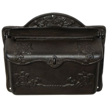 Mailbox antique design cast iron nostalgic high quality  – image 2